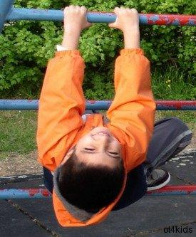Develop sensory processing, body and spatial awareness, motor planning, upper extremity strength and coordination, and hand strength.